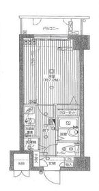 グランド・ガーラ横浜関内9階Fの間取り画像