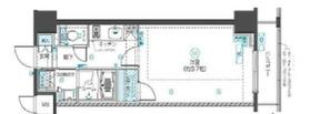フェニックス新横濱クアトロ4階Fの間取り画像