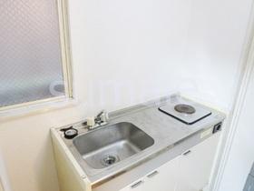キッチンは電気コンロで1口設置済みです☆