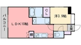 別府駅 徒歩4分12階Fの間取り画像