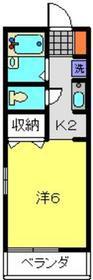 綱島駅 徒歩7分2階Fの間取り画像