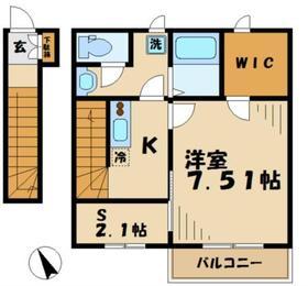 エスペランサKT エスペランサケーティー2階Fの間取り画像