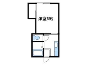 英ハイツ2階Fの間取り画像