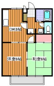 和光市駅 徒歩7分2階Fの間取り画像