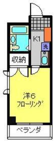 アムールフジ2階Fの間取り画像