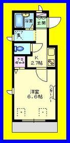 エクセラン マンション2階Fの間取り画像