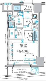 ベルシード横濱南太田4階Fの間取り画像