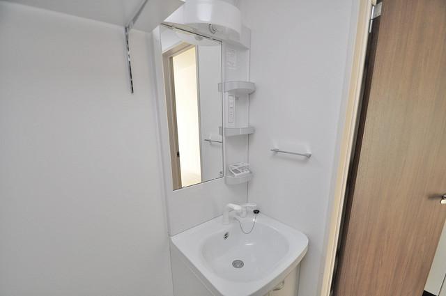 Fmaison verdeⅡ(エフ メゾン ベルデ) 人気の独立洗面所はゆったりと余裕のある広さです。