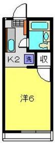 和田町駅 徒歩10分1階Fの間取り画像