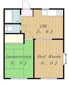 ハウスグリーン1階Fの間取り画像