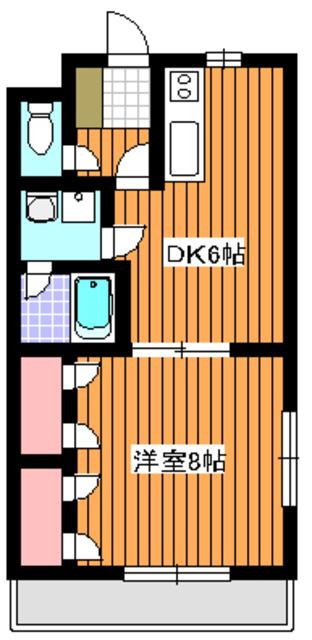 メゾン稲垣2間取図