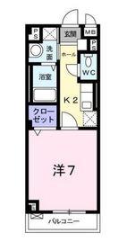 カルム2階Fの間取り画像