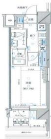 レグラス横浜吉野町9階Fの間取り画像