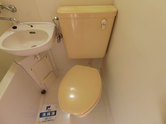 スカイコート西横浜6トイレ
