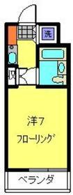 ライオンズマンション新横浜B館1階Fの間取り画像