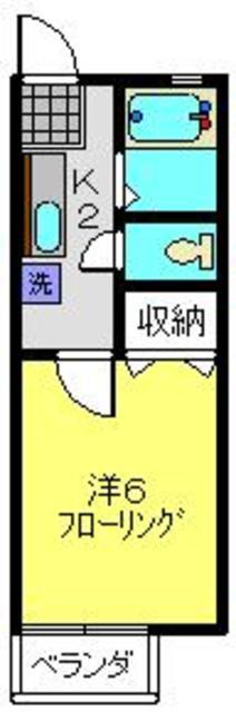 グリーンドエル三春台間取図