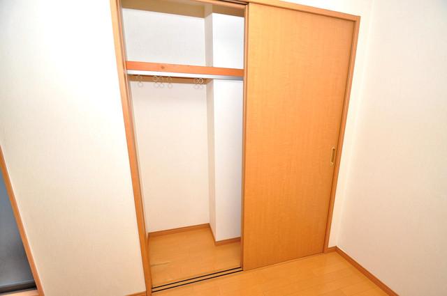 アドバンス俊徳 もちろん収納スペースも確保。いたれりつくせりのお部屋です。