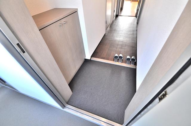 フルラーレ 玄関口が大きいので、とても解放感があります。