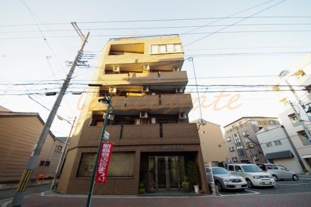 大阪市旭区新森3丁目の賃貸マンションの外観