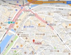 パークハウス千代田富士見案内図