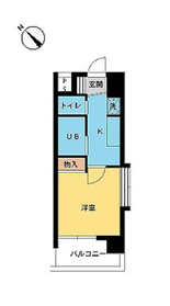 スカイコート原宿8階Fの間取り画像