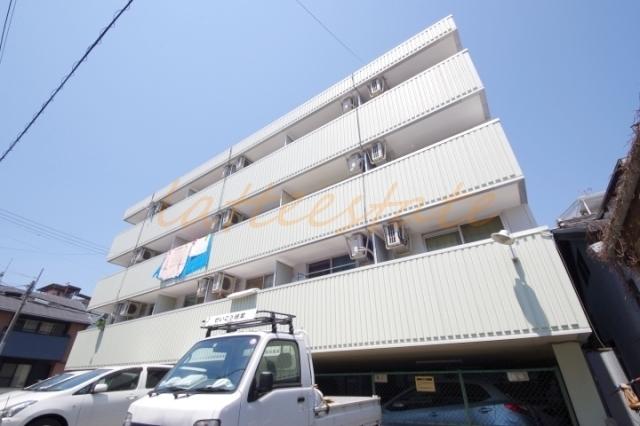 大阪市旭区清水3丁目の賃貸マンションの外観