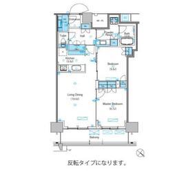 パークアクシス豊洲キャナル3階Fの間取り画像