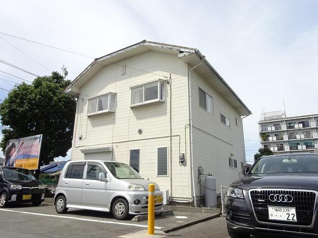 柳川県道沿いの便利な立地