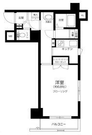 ガラ・ステージ日本橋人形町7階Fの間取り画像