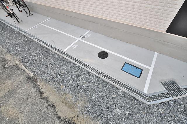 CITYPAL TAJIMA EAST 駐輪場が敷地内にあります。愛車を安心して置いておけますね。