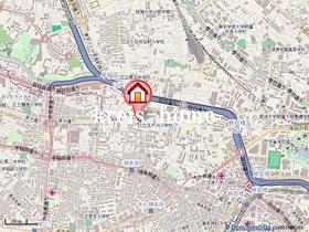 オートルフォワ神楽坂案内図