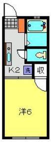 横浜駅 バス14分「峰沢町」徒歩4分1階Fの間取り画像
