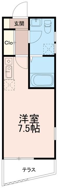 ハイツエノキ間取図