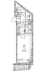 リクレイシア西麻布Ⅱ番館3階Fの間取り画像