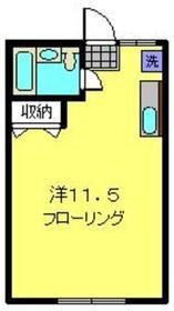 メゾン旭2階Fの間取り画像