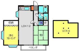 ライトハイム2階Fの間取り画像