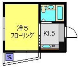 ピアサイド横浜2階Fの間取り画像