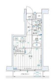 ラフィネジュ横浜南5階Fの間取り画像