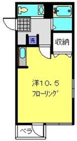 Y.M FLAT3階Fの間取り画像