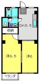 レジデンス榎2階Fの間取り画像