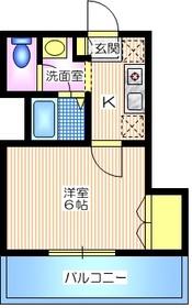 グランメゾンS3階Fの間取り画像