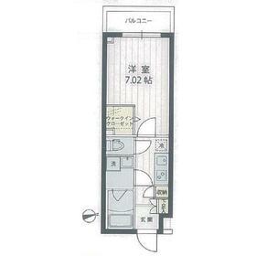 アプリーレ宮崎台Ⅱ地下2階Fの間取り画像