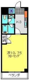 日吉駅 徒歩13分3階Fの間取り画像
