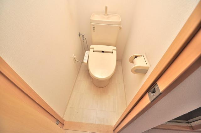 CITY SPIRE布施(ラグゼ布施) 清潔感のある爽やかなトイレ。誰もがリラックスできる空間です。