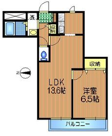 下北沢駅 徒歩10分1階Fの間取り画像