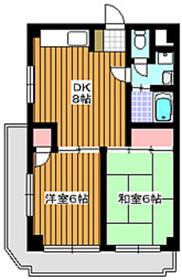 東武練馬駅 徒歩22分3階Fの間取り画像
