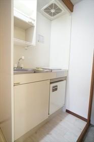 IHコンロとミニ冷蔵庫が付いたキッチン!