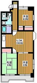 東武練馬駅 徒歩13分4階Fの間取り画像
