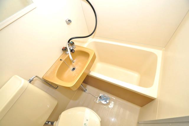 ハイツ南の風 シャワー一つで水回りが掃除できて楽チンです