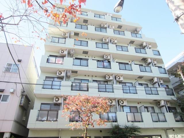 閑静な住宅街に建つ7階建て鉄筋コンマンション!